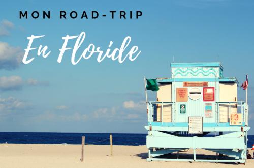 Mon Road trip en Floride