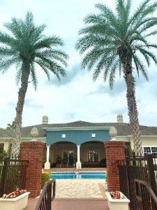 Résidence privée à Orlando palmiers et piscine
