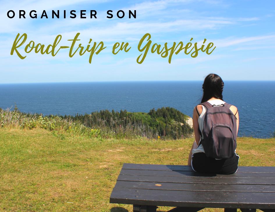 Organiser son road-trip en gaspésie
