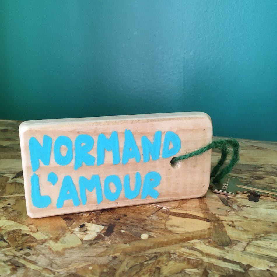 Les clés de la chambre Normand Lamour à Sea Shack