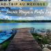 illustration de la journée d'excursion à punta laguna au mexique