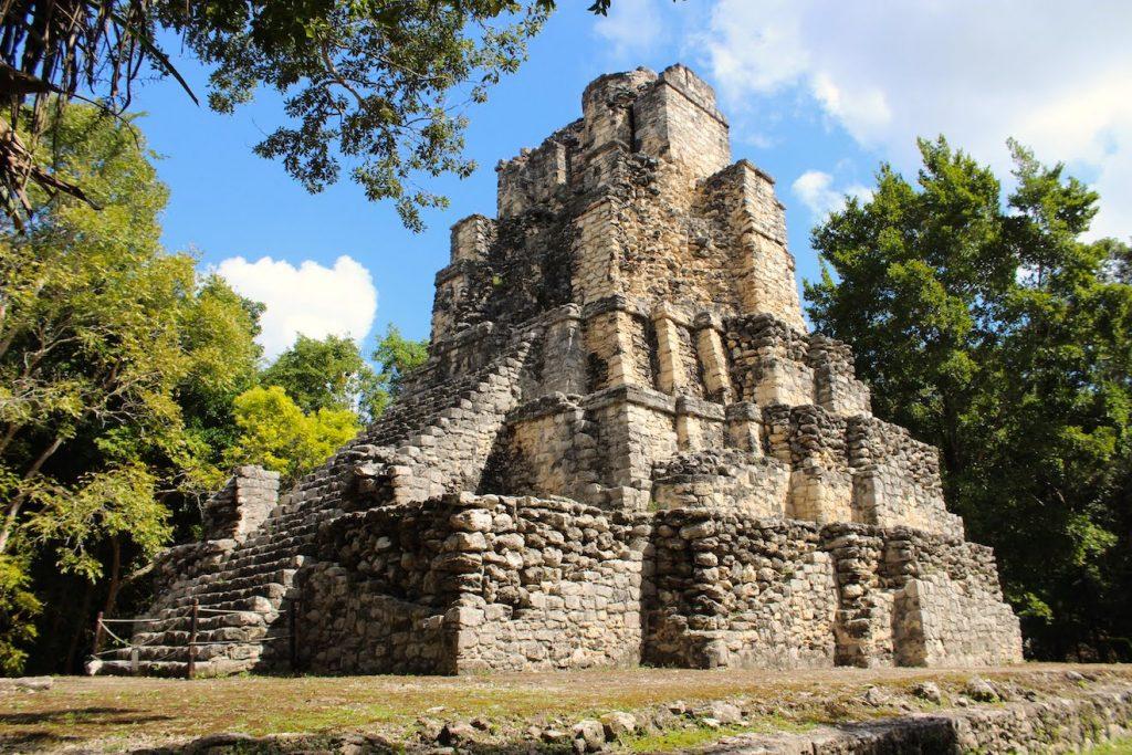 Un bel exemple de ruines de Muyils