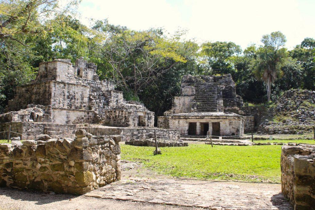 Les ruines maya de Muyils dans la réserve de Sian Ka'an