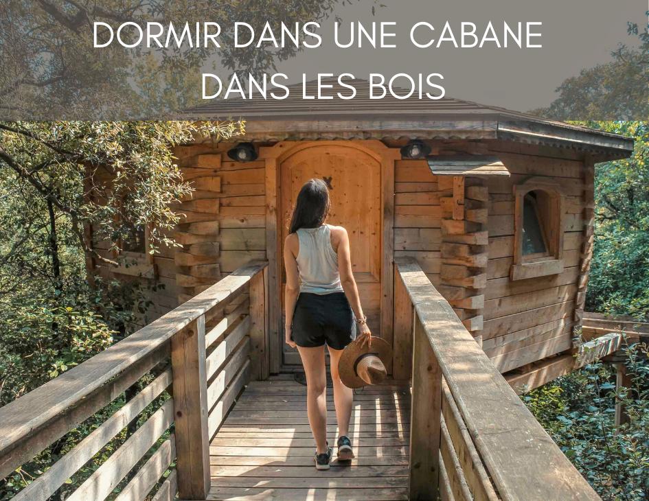 Illustration de l'article sur les cabanes dans les bois